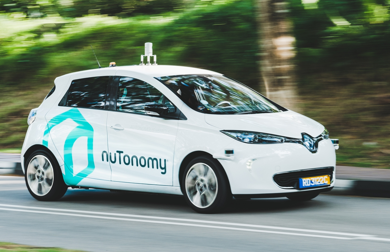 Self-driving startup nuTonomy bought by Delphi for $400 million