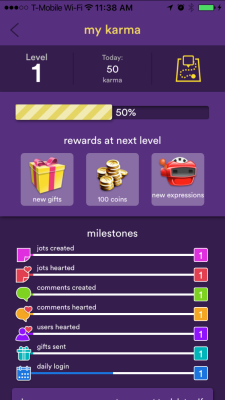 Hello.com gamification