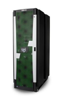 The SGI UV in-memory supercomputer.