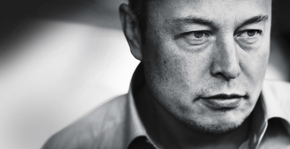This is a picture of Tesla chief executive Elon Musk