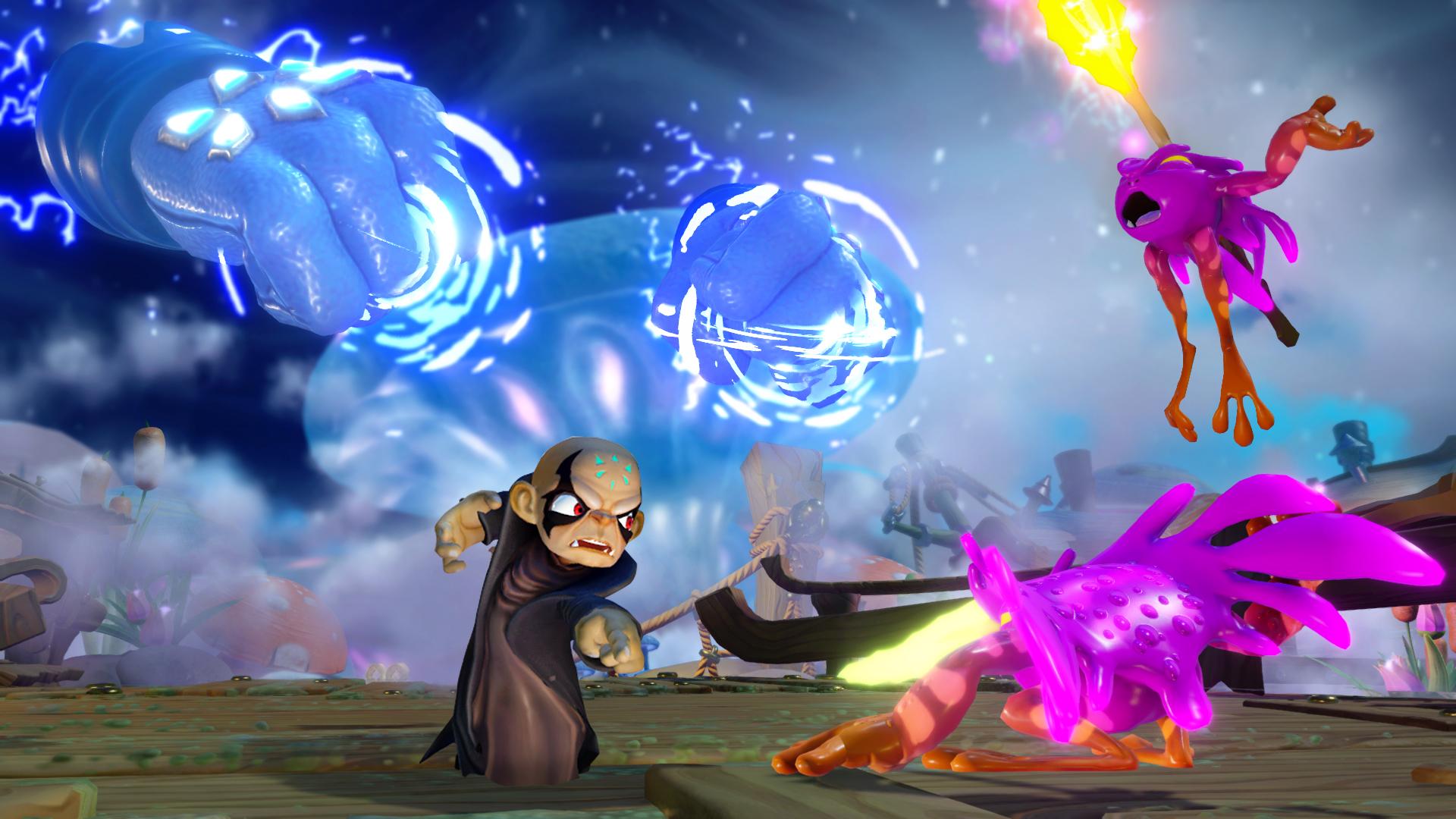 Kaos is playable in Skylanders Imaginators.