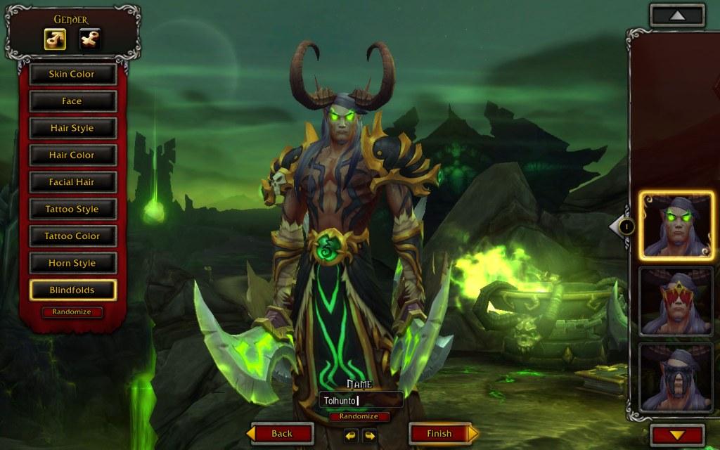 The Demon Hunter.