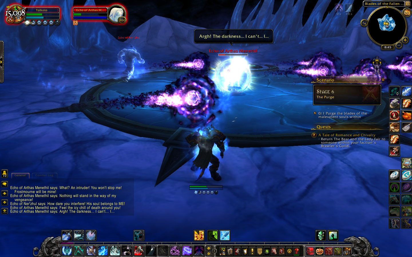 My Artifact quest even included a surprisingly fun boss fight.