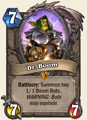 Dr. Boom.