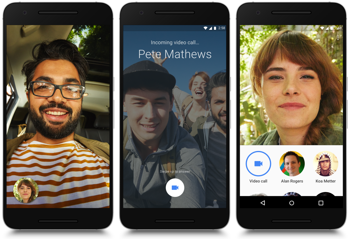 Google launches video calling app Duo for Android and iOS | VentureBeat