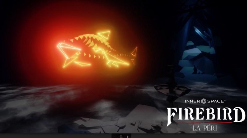 A VR shark in Innerspace VR's Firebird: La Peri.