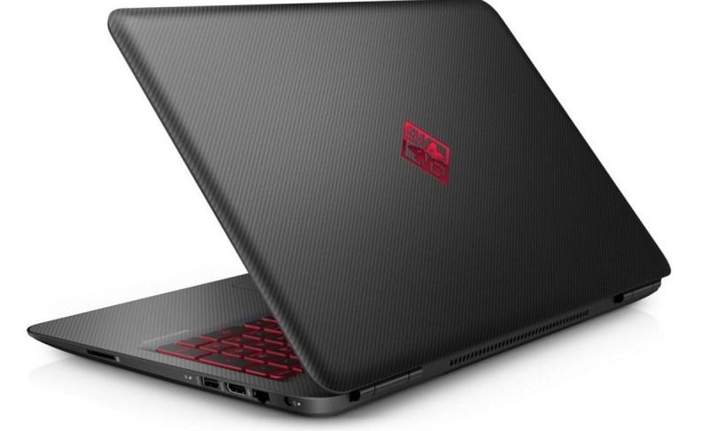 HP Omen 17-inch laptop.