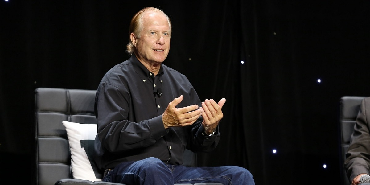 "Tom Kalinske, the hero of ""Console Wars,"" at the GamesBeat Summit."