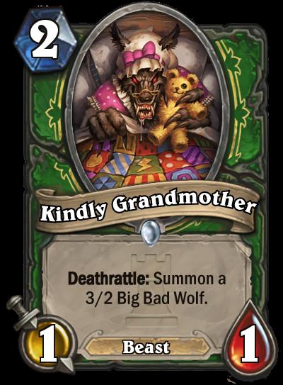 Kindly Grandmother.