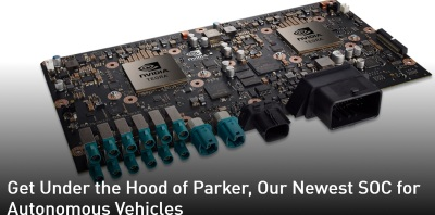 Nvidia Takes Wraps Off Parker Chip For Self Driving Cars
