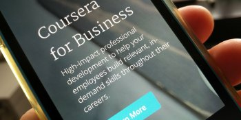 Coursera for Business launches to tap the billion-dollar corporate e-learning market