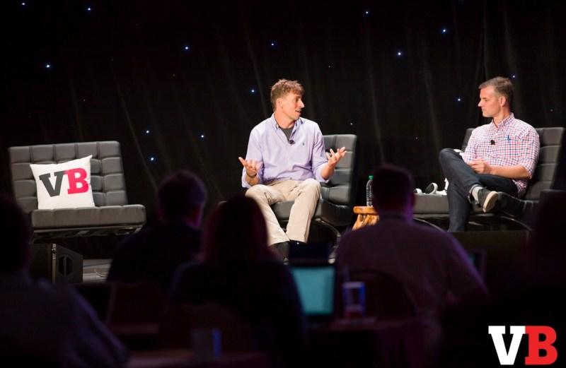 Richard Marks of Sony and Joost van Dreunen of SuperData at GamesBeat 2016.