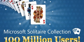 Microsoft's Solitaire, the most boring game ever, tops 100 million users
