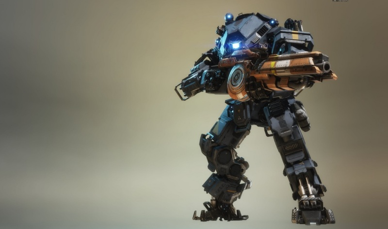 Titanfall 2's Ion Titan.