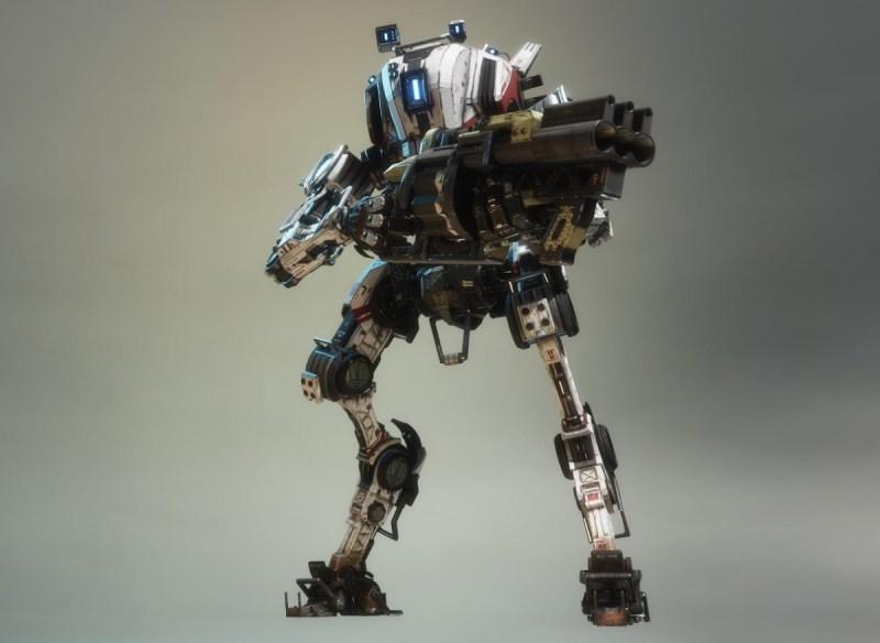 Titanfall 2's Ronin Titan.