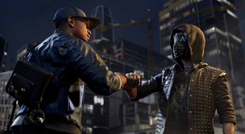 Watch Dogs 2 features Marcus Holloway (left) as the hero hacker.