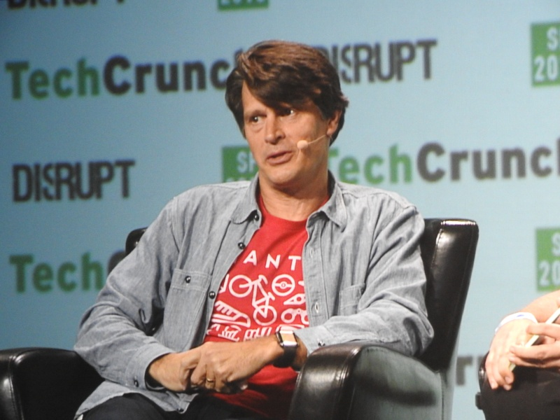 John Hanke, CEO of Niantic Labs, maker of Pokémon Go, at Techcrunch Disrupt.