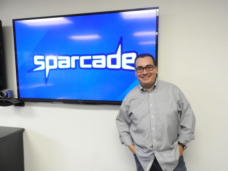 Greg Canessa, senior vice president of GSN Games and head of Sparcade.
