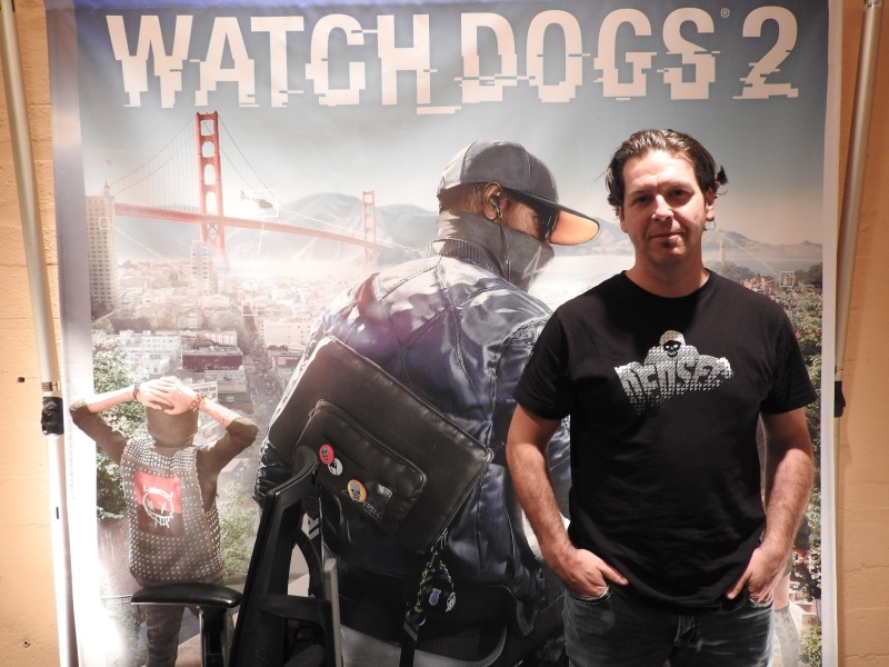 Danny Bélanger, game director for Ubisoft's Watch Dogs 2.