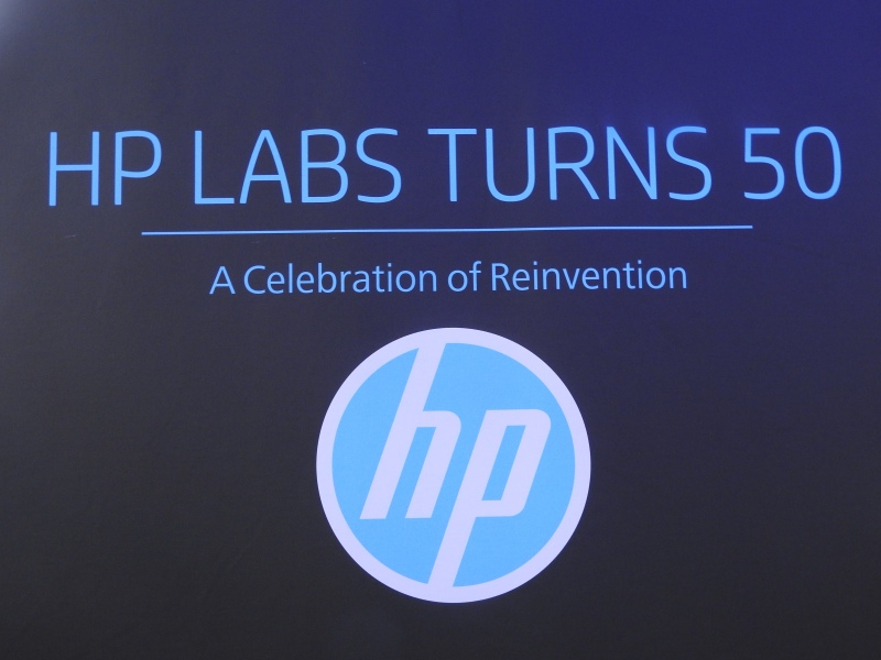 HP Labs turns 50.
