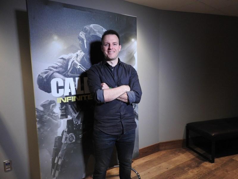 Joe Cecot, lead multiplayer designer for Call of Duty: Infinite Warfare.