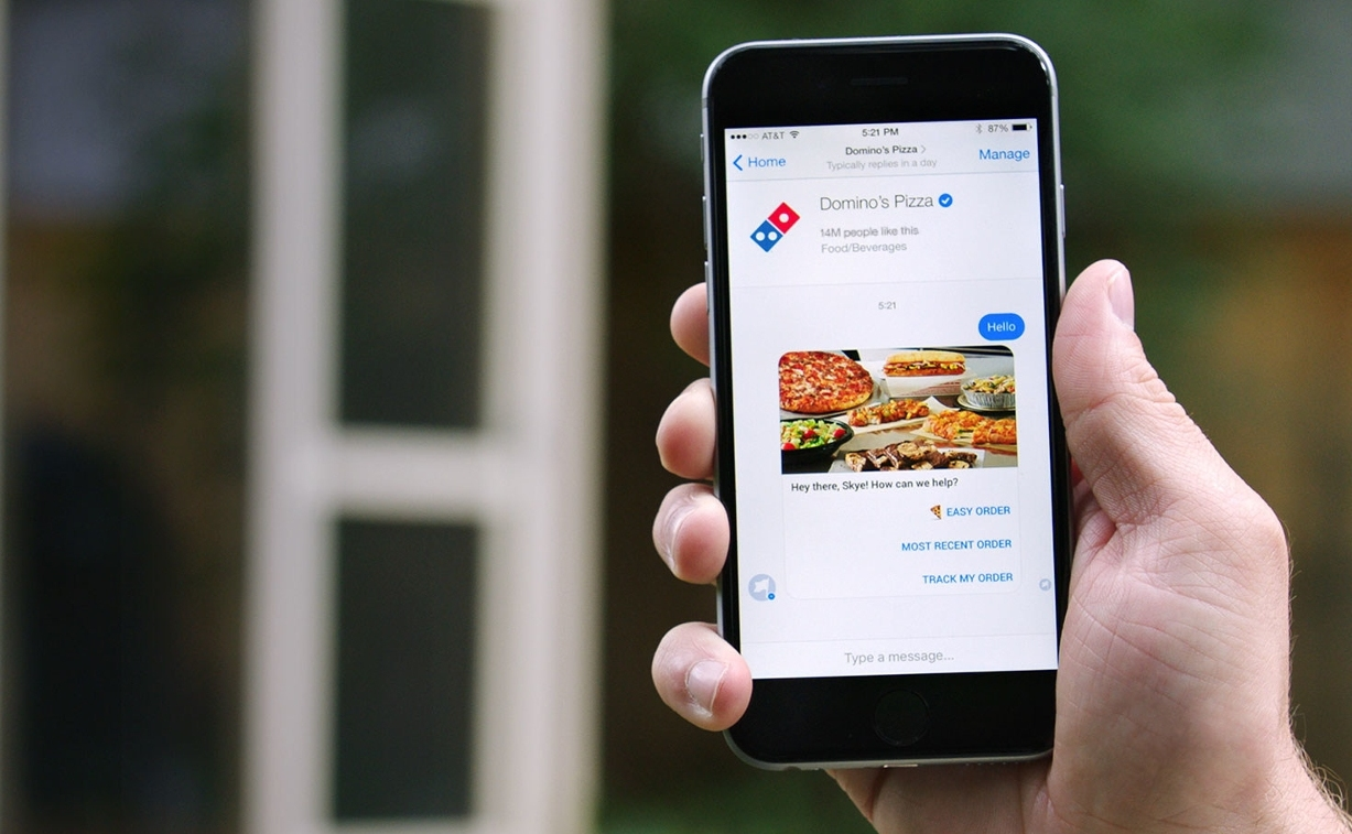 Domino's now lets you order pizza through a Facebook ...