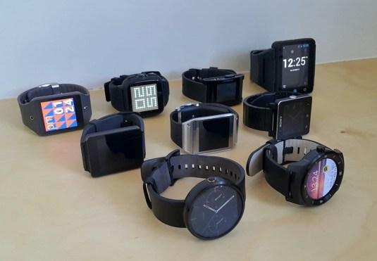 Sungjae Hwang's smartwatches circa 2014