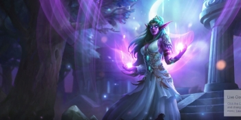 Twitch Prime users get new Hearthstone Priest hero: Tyrande Whisperwind