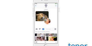 Tenor launches iOS 10 iMessage app with GIF creator and Snapchat-like filters