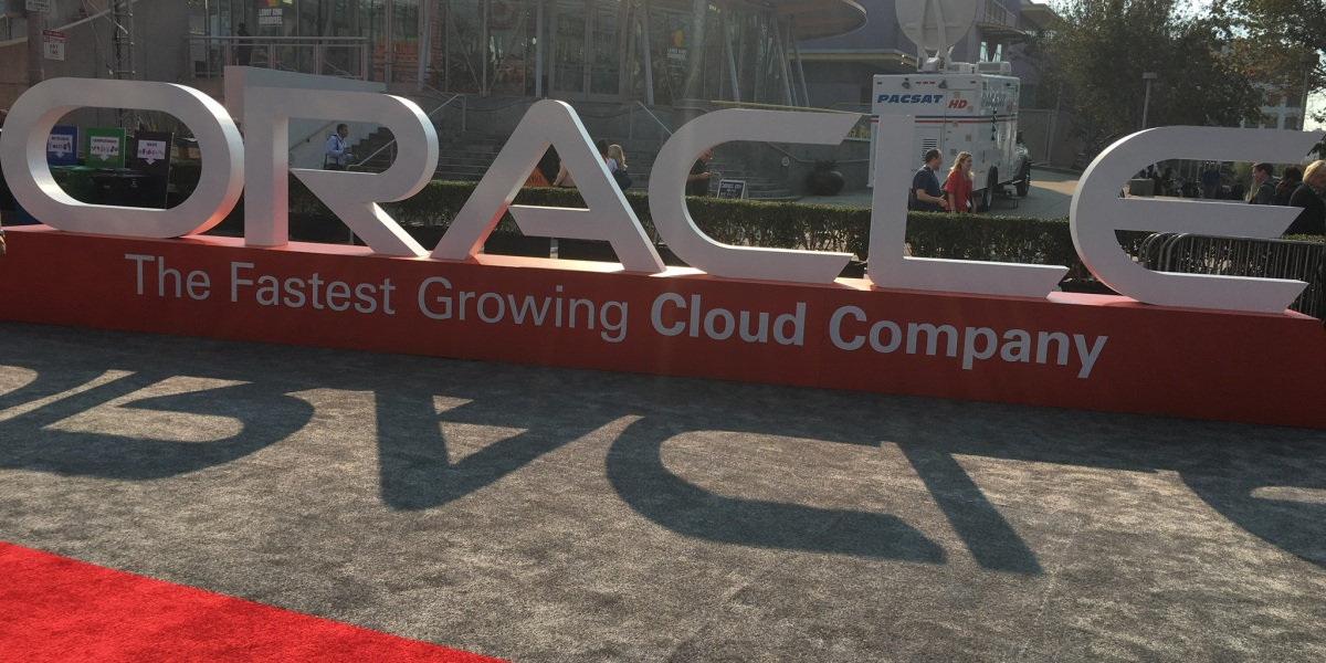 Oracle OpenWorld conference in San Francisco.