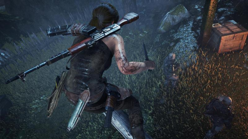 Lara Croft is a combat expert in Rise of the Tomb Raider.
