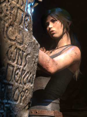 PlayStation 4 fans can see Lara Croft in Rise of the Tomb Raider on October 11.