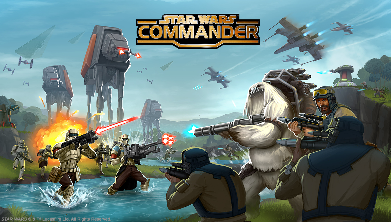Rogue One is now invading Star Wars: Commander.
