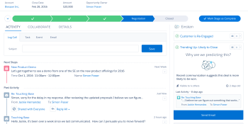 Salesforce forms research group, launches Einstein A.I. platform that works with Sales Cloud, Marketing Cloud