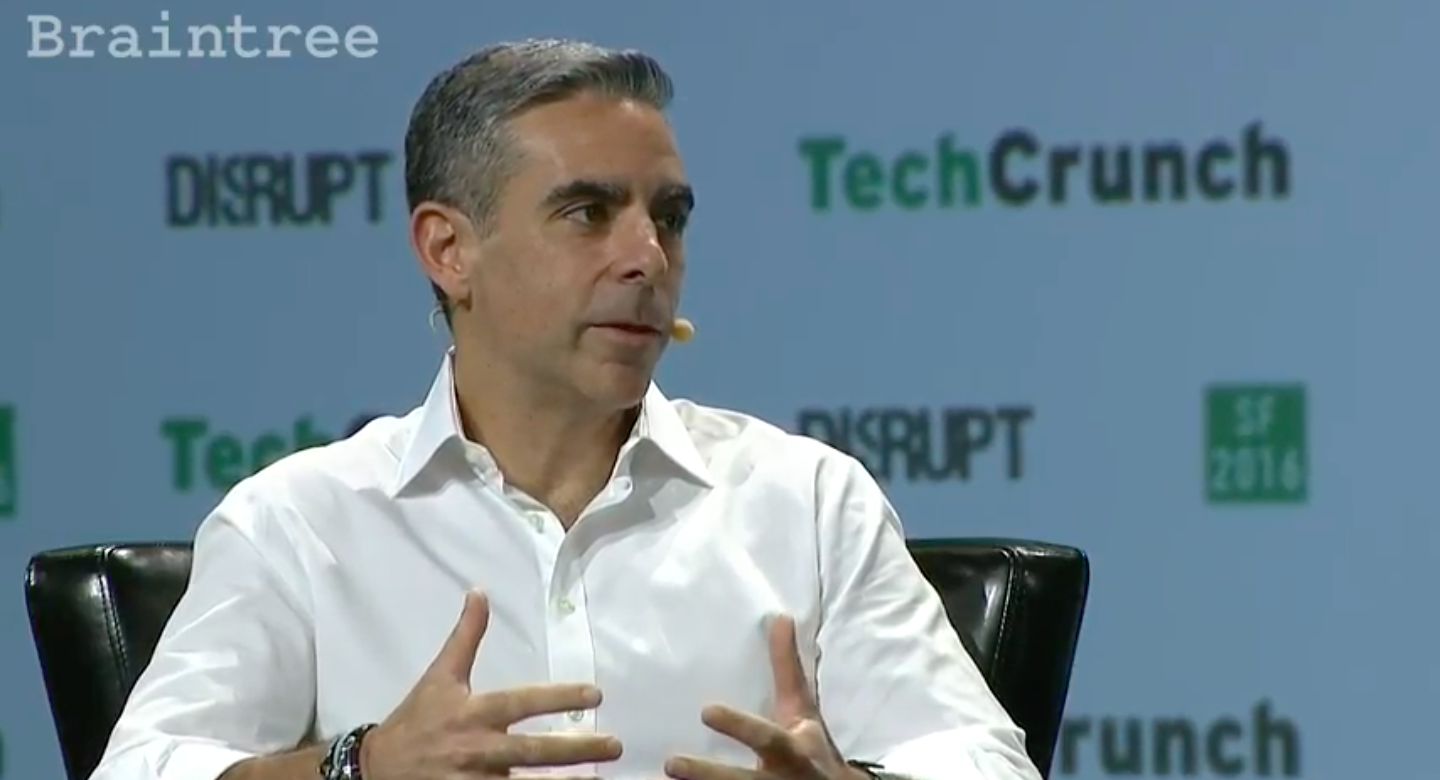 Facebook vice president of messaging products David Marcus