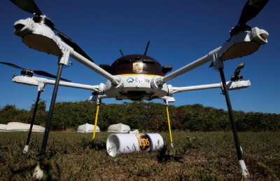 UPS, FedEx and Amazon gather flight data to prove drone
