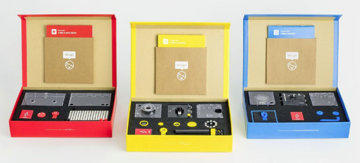 Kano announces speaker, camera and pixel kits.