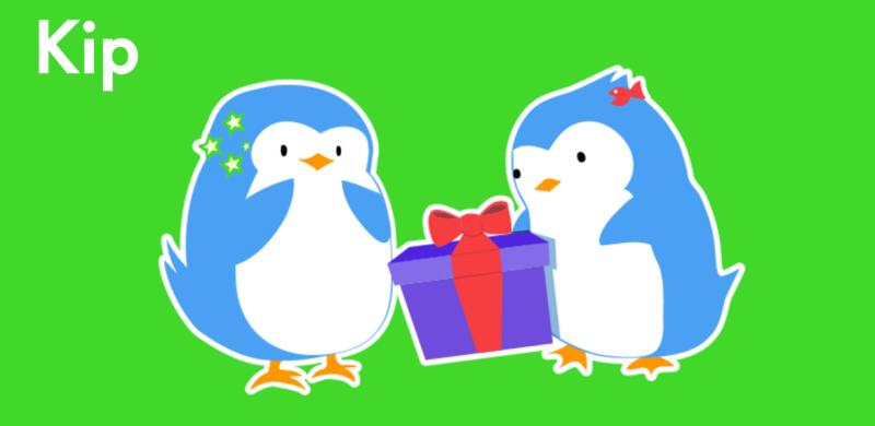 Kip penguin mascot
