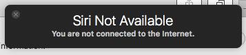 Siri Mac not available