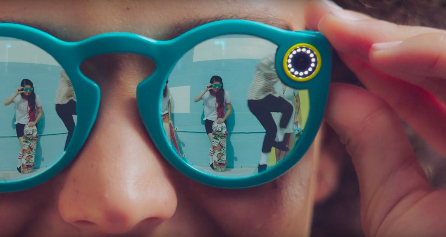 Snapchat's new Spectacles.