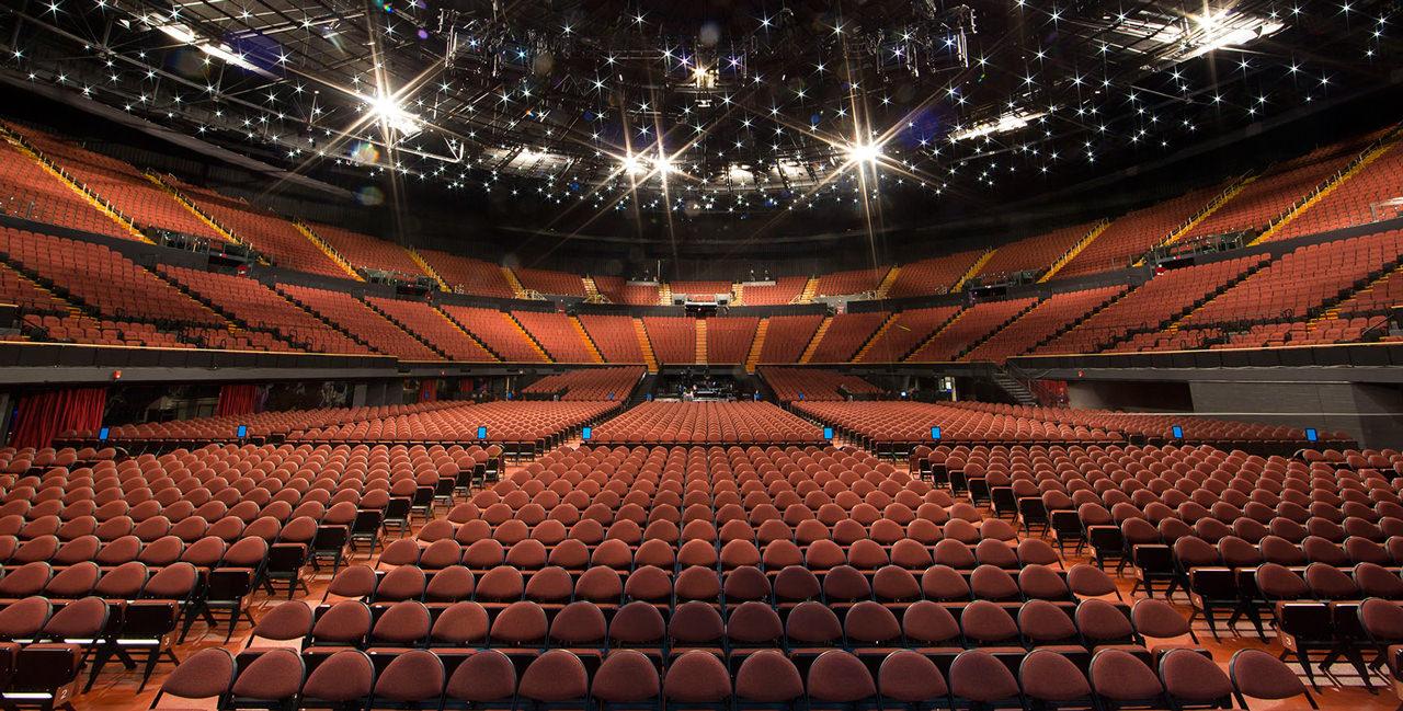 Inside The Forum arena