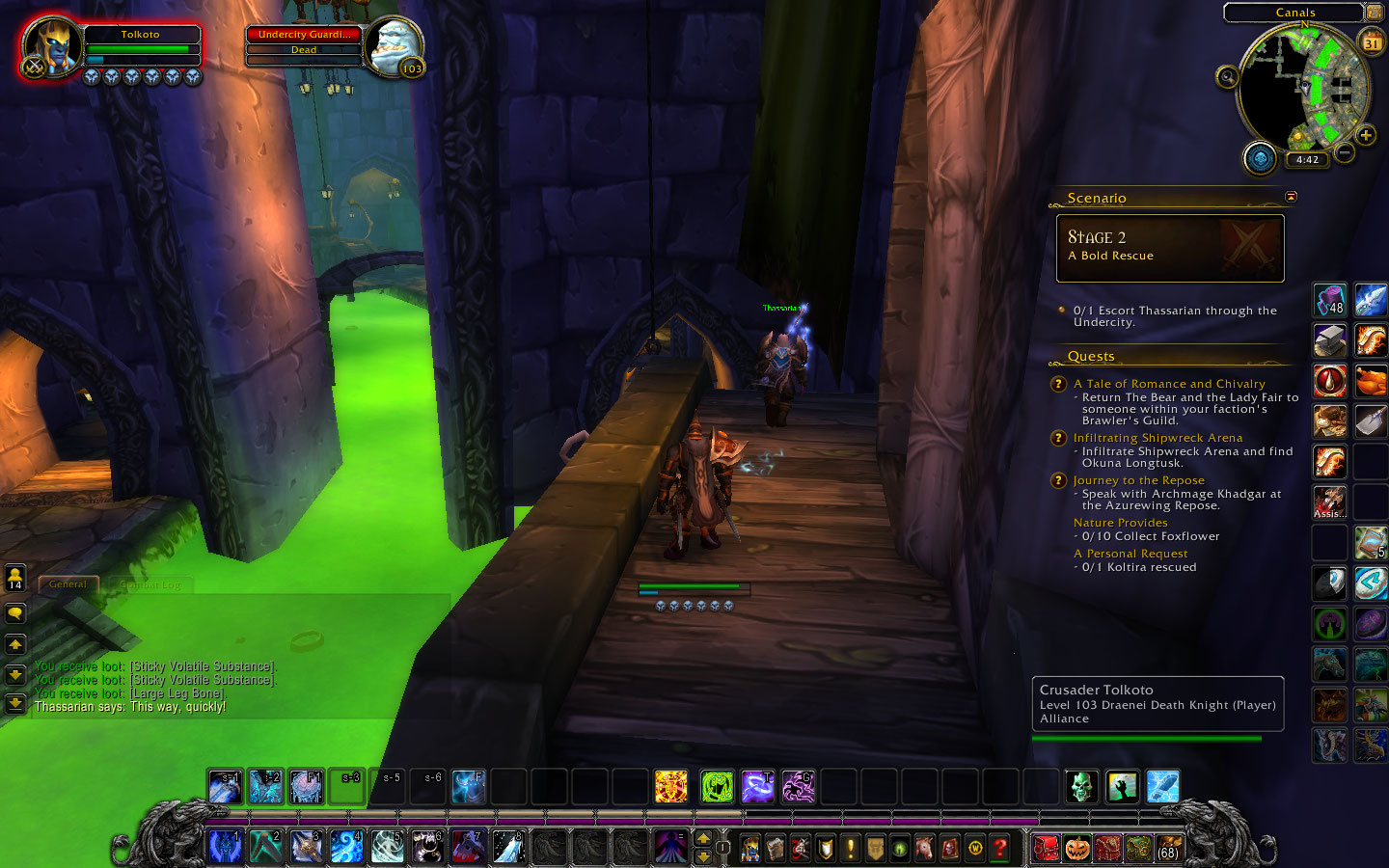 What's a dranei like me doing in Undercity?