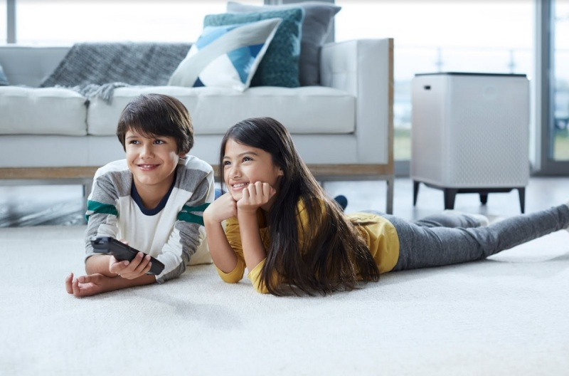 Airmega can help your kids fight off allergies, Coway says.