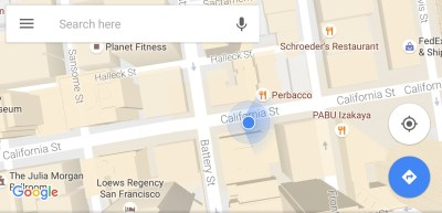Google Maps for Android now more precisely shows which