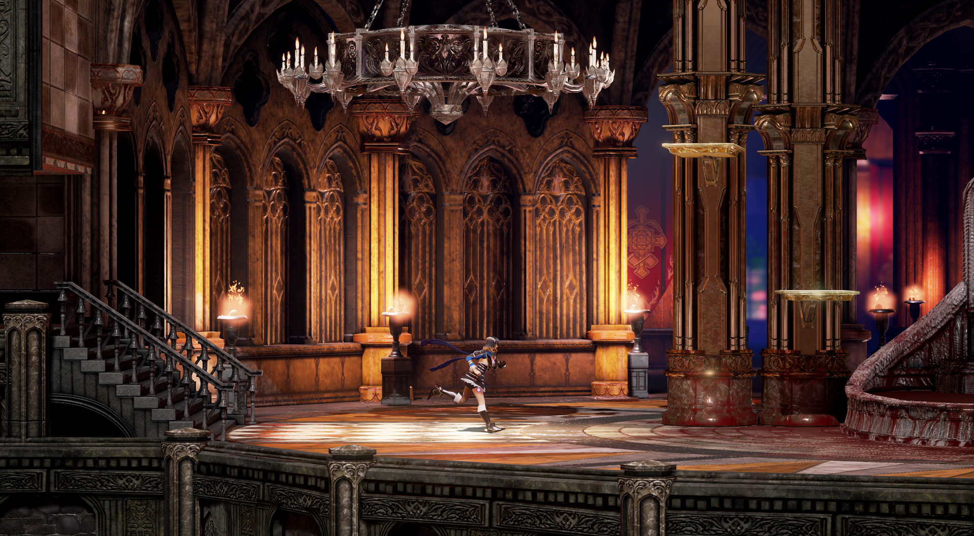 Bloodstained is a successor to Castlevania.