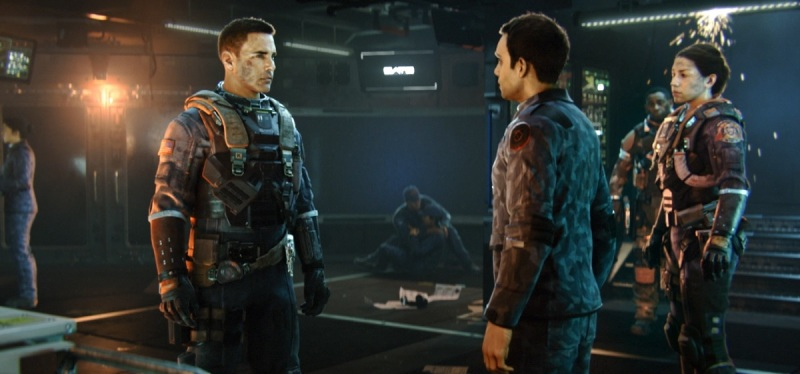 Captain Nick Reyes finds out he's in charge in Call of Duty: Infinite Warfare.
