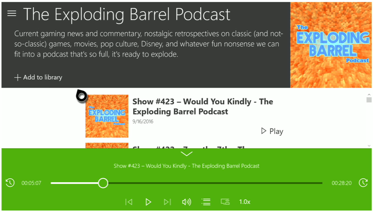 How to play podcasts in the background on Xbox One | VentureBeat
