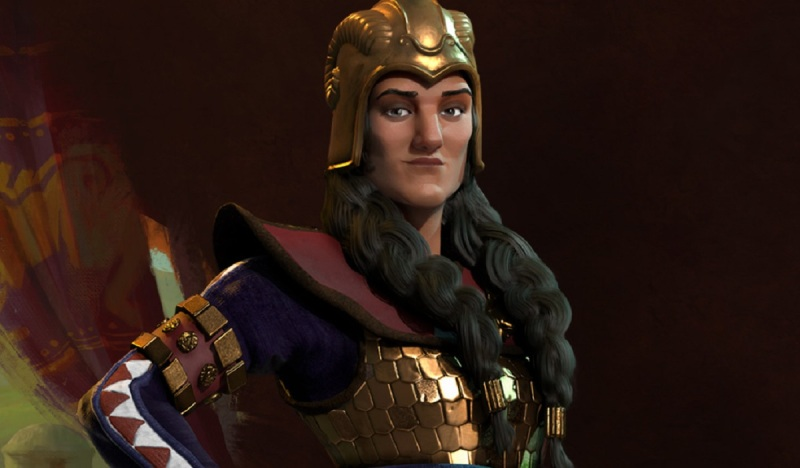Tomyris is the queen of Scythia in Civilization VI.