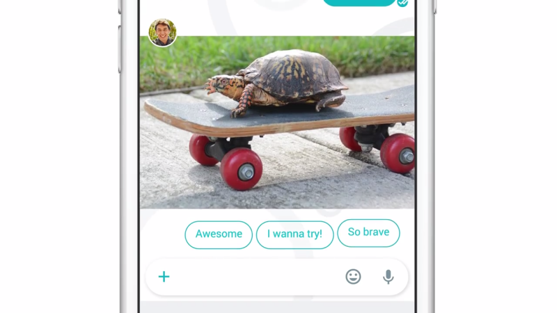 Google Allo Smart Reply works with words and images