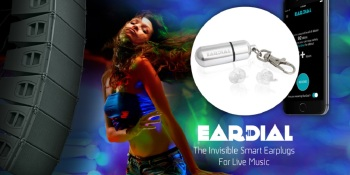 EarDial protects you from hearing loss at thunderous concerts